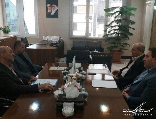 دیدار استاندار گلستان با مدیر عامل بنیاد برکت