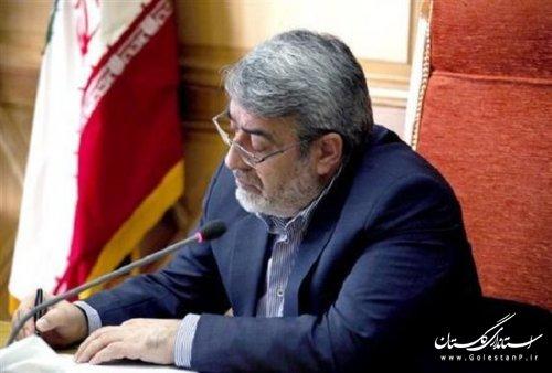 وزیر کشور درگذشت والده استاندار گلستان را تسلیت گفت