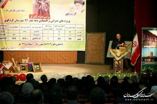 استاندار گلستان: همه باید در راستای جذب سرمایه گذاران تلاش کنند