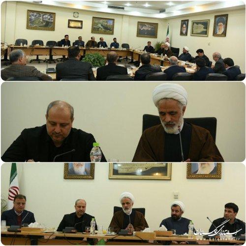 دیدار استاندار گلستان با حجت الاسلام انصاری عضو مجمع تشخیص مصلحت نظام