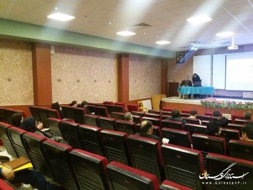 برگزاری دوره آموزشی ویژه عوامل اجرایی و اعضا ستاد اجرایی خدمات سفر در استان گلستان