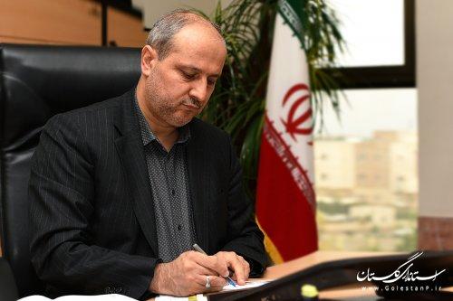 استاندار گلستان در پیامی روز ملی «مهندس» را به جامعه مهندسی استان تبریک گفت