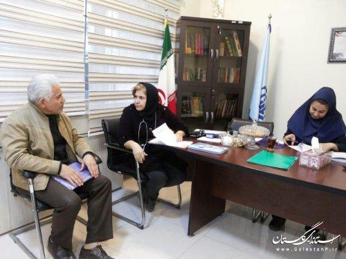 بررسی ماهیانه 250 پرونده در کمیسیون پزشکی پلی کلینیک (ره) امام خمینی گرگان