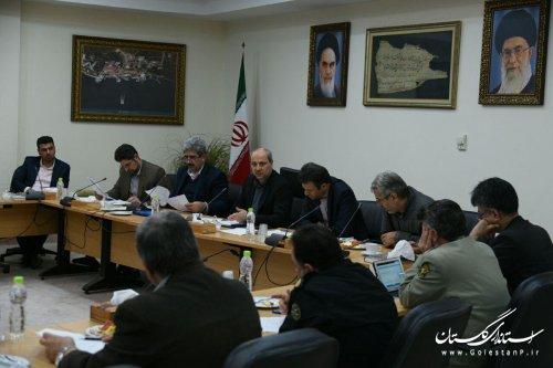 اولین جلسه شورای معادن استان به ریاست استاندار گلستان برگزار شد