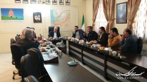 دیدار استاندار گلستان با سرمایه گذاران حوزه هواپیمایی و ورزش