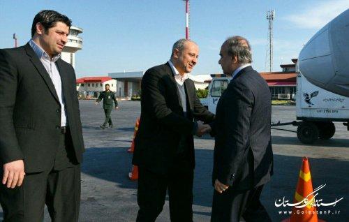 وزیر ورزش و جوانان وارد استان گلستان شد