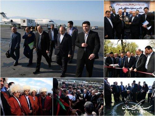 سفر یکروزه وزیر ورزش و جوانان به استان گلستان