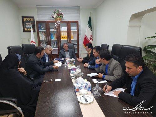 دیدار شهردار و اعضای شورای شهر سرخنکلاته با مدیر کل راه وشهرسازی استان گلستان