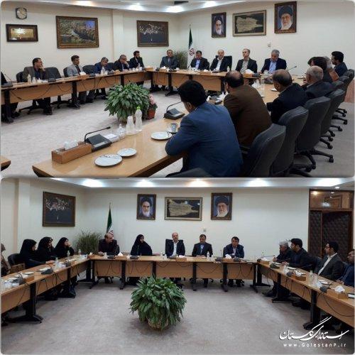 دیدار عیدانه استاندار گلستان با احزاب و شوراهای راهبردی بانوان، جوانان و رسانه