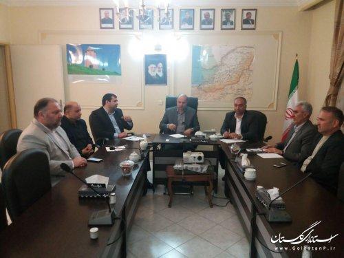 جلسه استاندار با مجمع نمایندگان استان پیرامون پیگیری در تسریع اجرای پروژهای اساسی گلستان برگزار شد