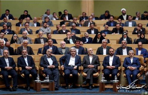 حضور استاندار گلستان در نشست هم اندیشی مدیران ارشد دولت تدبیر و امید با ریاست محترم جمهوری