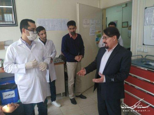 پروژه ساخت درمانگاه آزادشهر طبق برنامه درحال فعالیت است