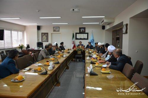 اقامه نماز مهم ترین برنامه فرهنگی در مدیریت درمان گلستان