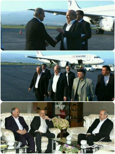حضور معاون رئیس جمهوری و رئیس سازمان حفاظت محیط زیست در گلستان
