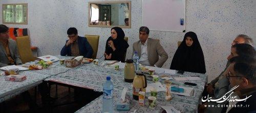 کارگاه آموزشی مسئولین اداری و کارگزینی شهرداری های استان گلستان