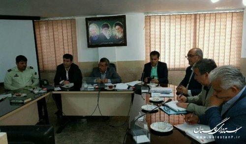 دهمین جلسه شورای حفاظت از منابع آب شهرستان گالیکش برگزار شد