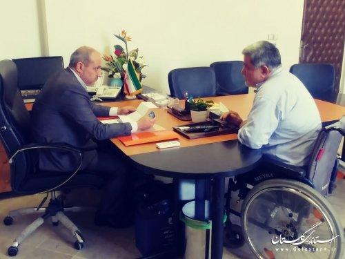 ملاقات عمومی استاندار گلستان با مردم برگزار شد