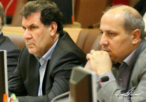 حضور استاندار گلستان در همایش استانداران سراسر کشور
