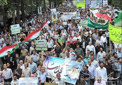مسیرهای راهپیمایی روز جهانی قدس در گلستان اعلام شد