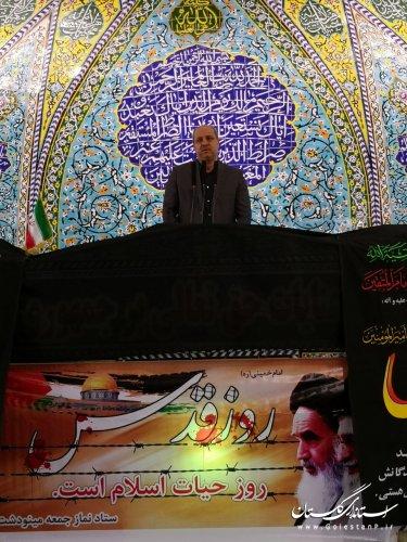 اسرائیل و امریکا به دنبال تفرقه افکنی و امتیازگیری از کشورهای مسلمان هستند