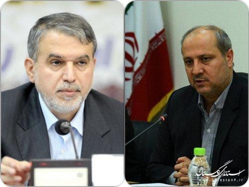 استاندار گلستان با رئیس کمیته ملی المپیک دیدار کرد