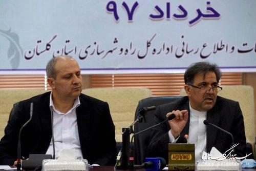 وزیر راه و شهرسازی در جلسه ستاد بازآفرینی شهری گلستان؛ مهمترین استراتژی دولت در حوزه مسکن ارتقا کیفیت زندگی و بهبود محله ای است