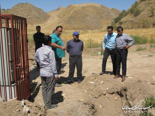 سه روستای شهرستان مراوتپه در آستانه بهره مند شدن ازنعمت آب شرب