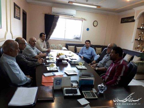 دیدار مدیرکل بهزیستی گلستان با جمعی از مدیران مراکز و موسسات خیریه
