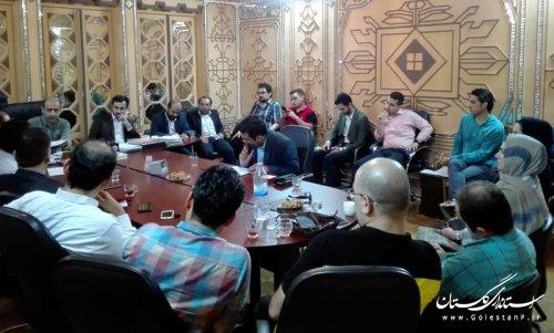 نشست صمیمی با برنامه گذاران موسیقی در استان گلستان