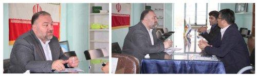 بازدید  از مدیریت امور آبفار شهرستان آق قلا