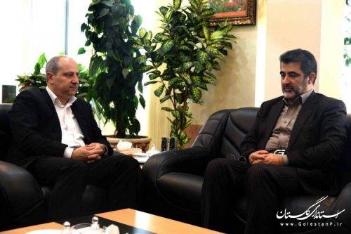 تقدیر استاندار گلستان از معاون هماهنگی امور اقتصادی وزیر کشور