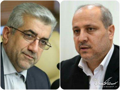استاندار گلستان با وزیر نیرو دیدار کرد