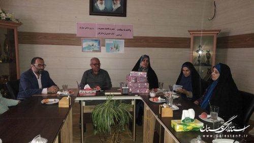 مراسم تجلیلی به مناسبت میلاد با سعادت حضرت معصومه (س) و روز دختران برگزار شد