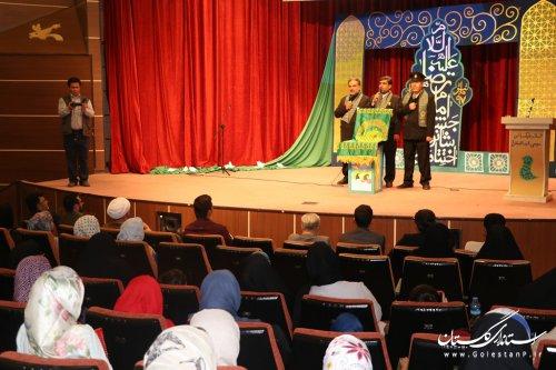 فعالان شانزدهمین جشنواره بینالمللی رضوی با حضور خادمان امامرضا(ع) در گلستان تجلیل شدند