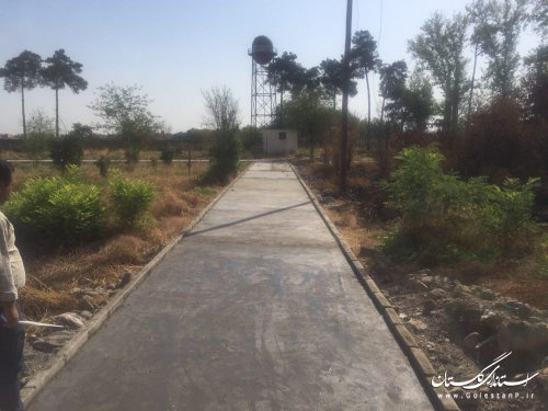 اجرای پروژه محوطه سازی بقعه دانشمند و پارک آرامش و تکمیل کمپینگ تالاب آلماگل
