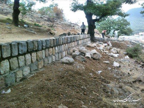 تکمیل زیرساخت گردشگری پارک شبنم نوده خاندوز و پارک زیتون آزادشهر