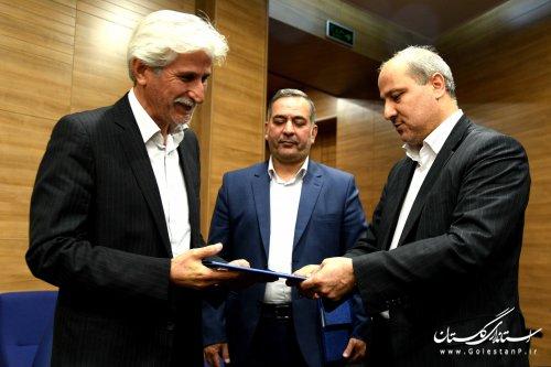 سرپرست معاونت هماهنگی امور اقتصادی و توسعه منابع استاندار گلستان معرفی شد