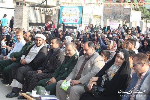 برگزاری جشنواره توسعه فرهنگ و توانمند سازی روستائیان در روستای باغ گلبن