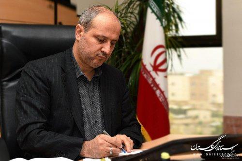 استاندار گلستان در پیامی روز خبرنگار را به فعالان عرصه آگاهی بخشی تبریک گفت