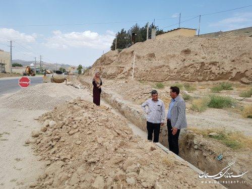 شهردار مراوه تپه : هدایت و دفع آب های سطحی از مهمترین دغدغه های شهرداری است