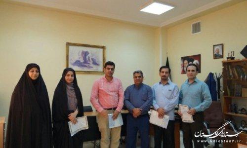 تجلیل از اصحاب رسانه به مناسبت روزخبرنگار در شهرستان رامیان