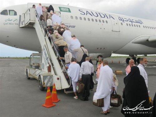 آخرین گروه از زائران حج تمتع 97استان گلستان عازم سرزمین وحی شدند