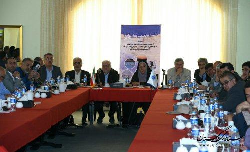 نشست تخصصی خلیج گرگان و تالابهای بینالمللی استان برگزار شد