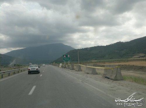 دو پروژه راهسازی در شهرستان آزادشهرآغاز شد