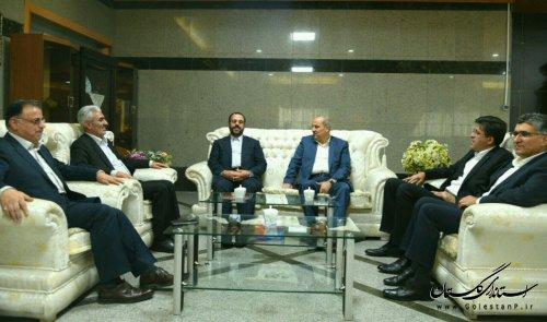 حضور معاون پارلمانی رئیس جمهوری در گلستان