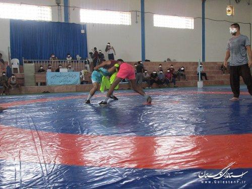 برگزاری اولین دوره مسابقات گشتی آلیش قهرمانی مددجویان زندان گرگان