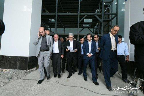 معاون رئیس جمهور از تنها کارخانه تولید کننده ویتامین E در خاورمیانه بازدید کرد