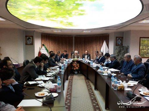 برگزاری جلسه هماهنگی همایش سرمایه گذاری و تهیه بسته های سرمایه گذاری استان