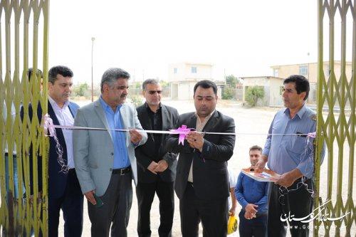 تاسیساتاستاندارد سازی شده سلیندر پرکنی گاز مایع عشایر گلستان در مراوه تپه به بهره برداری رسید