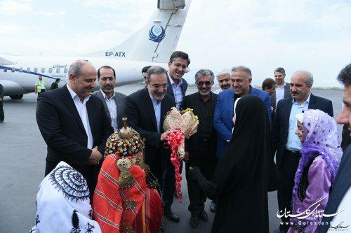 کلیپ سفر دکتر بطحائی وزیر آموزش و پرورش  به استان گلستان